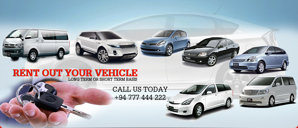 Rent out your vehicle