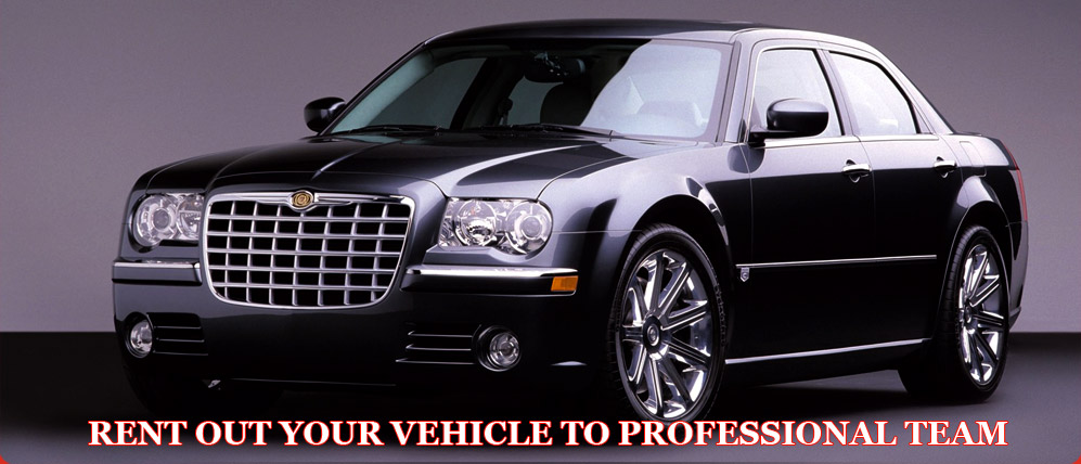 Rent out your vehicle to professional team